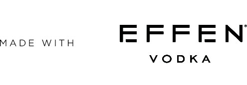 Made with Effen Vodka