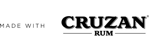 Made with Cruzan Rum