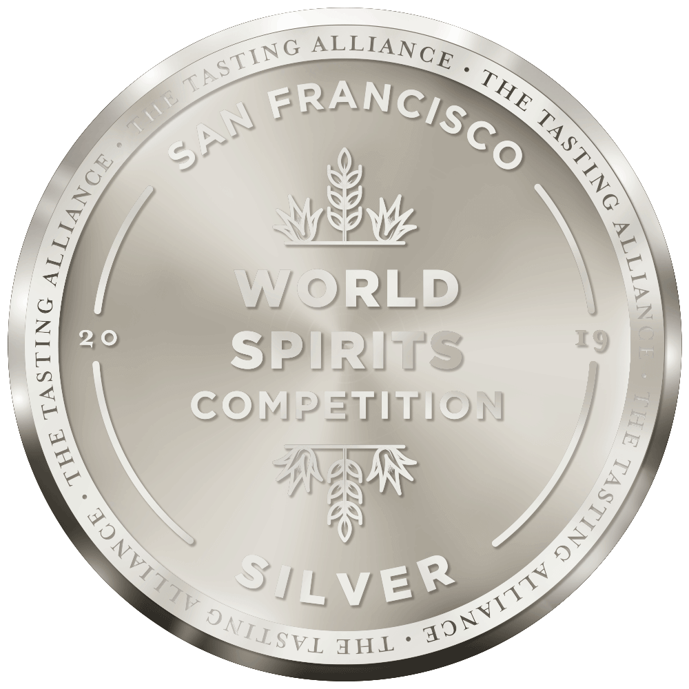 San Francisco Spirit Competition 2019 - Silver Winner